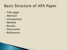 Sample of an abstract of a research paper