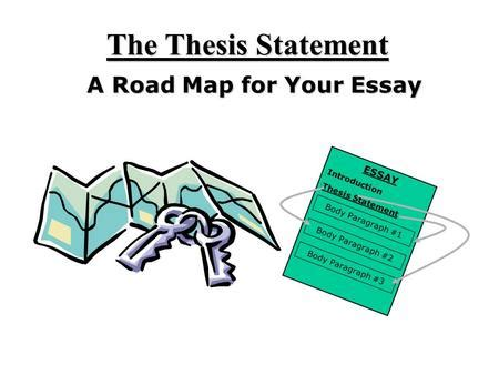 Thesis statement conflict essay